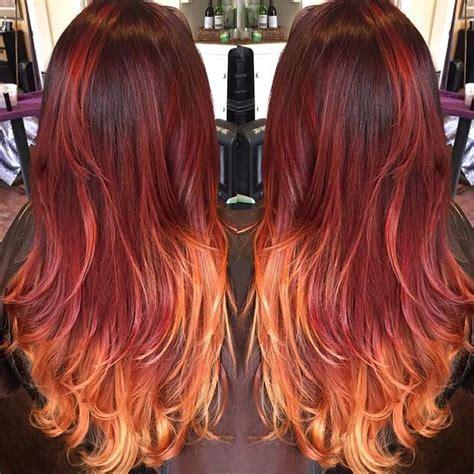 10 Best Red Ombre Hair Color Ideas Crazyforus