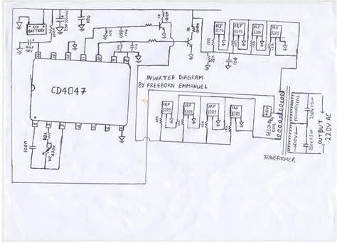 How Build Inverter Watts Circuit Diagram