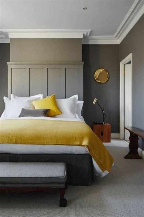 chambre a coucher et gris idées chambre à coucher design en 54 images sur archzine fr