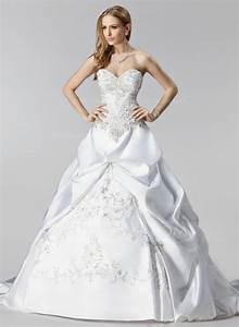 ball gown sweetheart chapel train satin wedding dress with With chapel train wedding dress