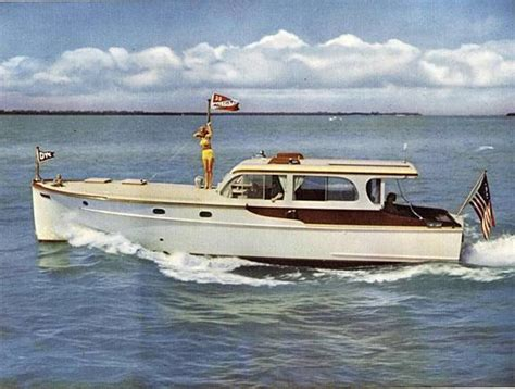 Oliver Dinghy Boat by 1948 Matthews 40 Sedan Cruiser Classic Yacht Home