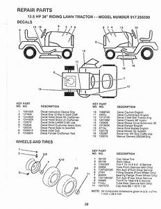 Page 29 Of Sears Lawn Mower 917 25559 User Guide