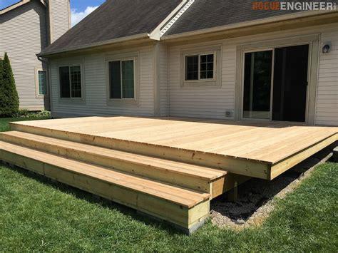 floating deck plans add visual appeal   backyard home  gardening ideas