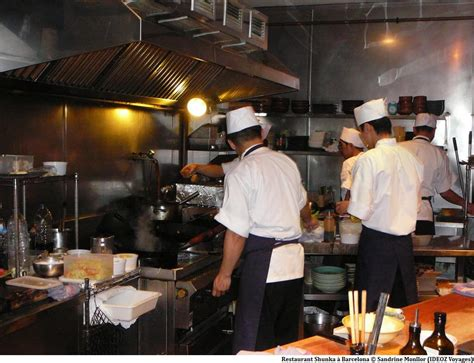 restaurant japonais cuisine devant vous shunka barcelona meilleur restaurant japonais de barcelone