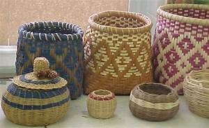 Genuine Cherokee Indian Basketry by Burl Ford baskets