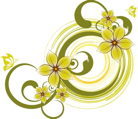flowers design fashion butterflies and flowers vector material vectors download crazy free vector com