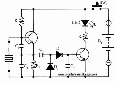 Simple Crystal Tester Circuit Diagram