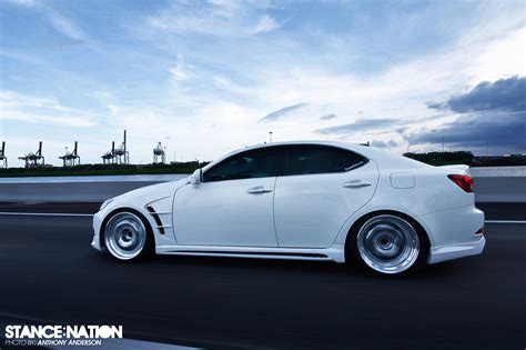 bagged lexus is250 wald kitted uas bagged lexus stancenation form