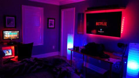 Led Light Room Setup by Bedroom Hue Setup Hue