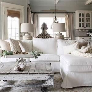 Shabby Style Onlineshop : 70 beautiful white shabby chic living room decoration ideas pinterest shabby chic living ~ Frokenaadalensverden.com Haus und Dekorationen
