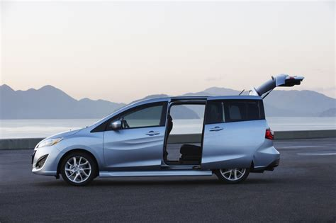 cars with sliding doors mazda 5 7 seater cars