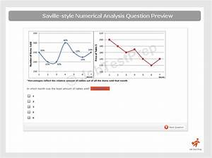 Saville Numerical Analysis  U2013 Practice For Swift Aptitude