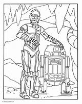 Coloring Wars Star Pages Birthday C3po Printable Print sketch template