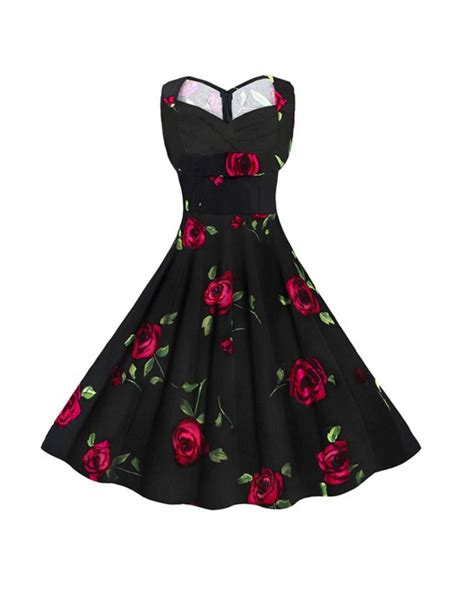 Robe Mariã E ã E 50 Robe 224 Fleur Vintage Pin Up Retro