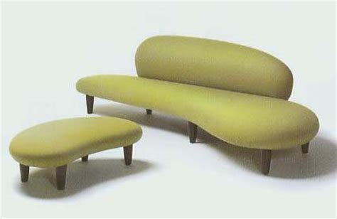 Don S Upholstery by Freeform Sofa Ottoman By Isamu Noguchi 1946 Don S