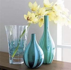 Grand Vase En Verre : fleurs dans un vase transparent ~ Teatrodelosmanantiales.com Idées de Décoration