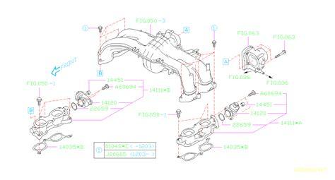 Subaru Intake Manifold Diagram by 14120aa090 Motor Assembly Intake Manifold Throttle