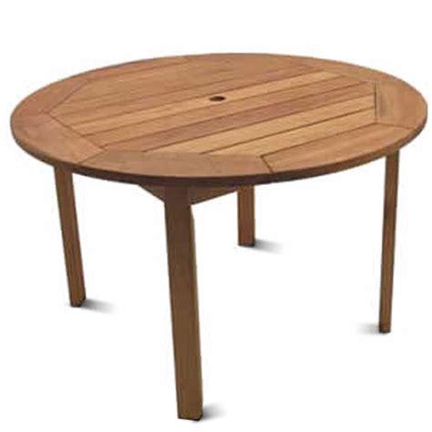round wooden outdoor table milano fsc eucalyptus wood outdoor round table walmart com