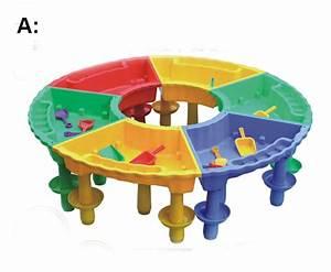 Table Jeux D Eau : multifonction en plastique enfants maternelle assembl ~ Melissatoandfro.com Idées de Décoration