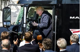 Image result for trump truck pics