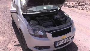Chevrolet Aveo Oil Filter Location Video