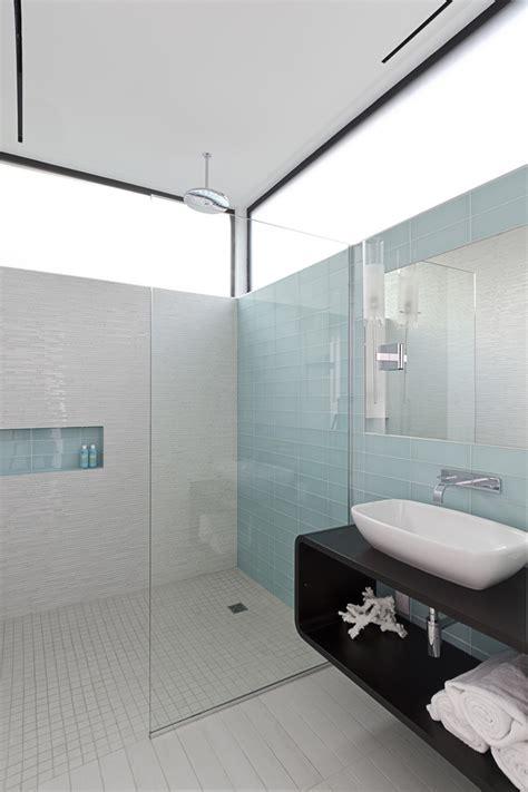 Modern Glass Tile Bathroom Ideas by Marvelous Unclog Drain Mode Houston Modern Bathroom
