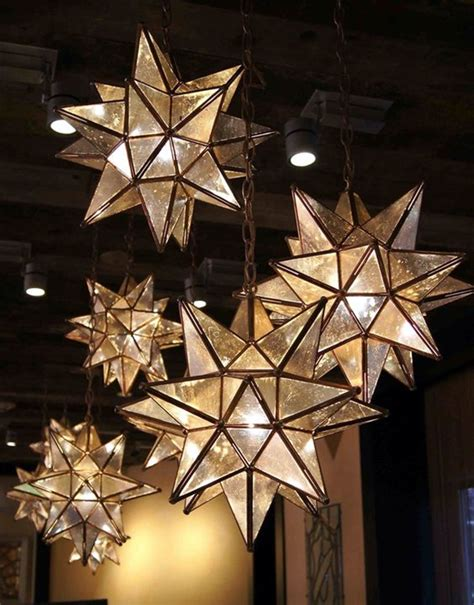 hanging star christmas lights 15 creative and cheap indoor wall ls ideas