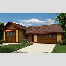 Rv Garage With Workshop  9829sw  Architectural Designs