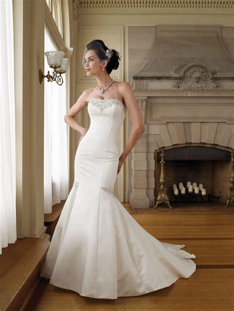 wedding dress for beautiful satin mermaid wedding dresses sang maestro
