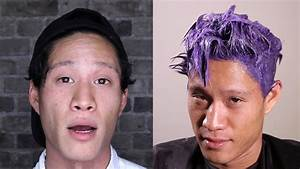 Men Dye Their Hair For The First Time YouTube