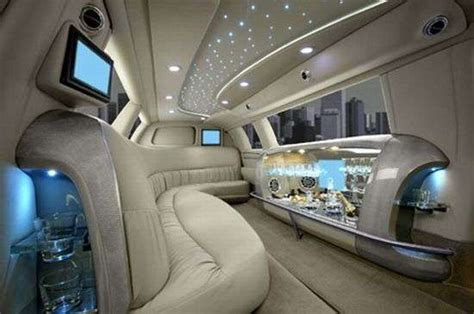 Luxury Limousine Interior Designs