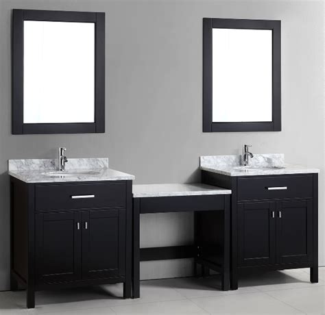 bathroom vanity with sink and makeup area double sink bathroom vanity with makeup area mugeek