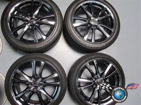 four 06 08 lexus is250 is350 factory 18 quot wheels tires pvd