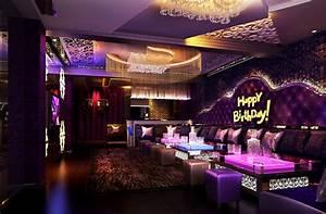 KTV room design for birthday party