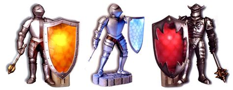 plug  medieval knight lights  green head