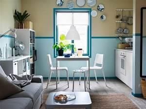 Cuisine Bleue Ikea : peinture 3 couleurs sur un m me mur ~ Preciouscoupons.com Idées de Décoration