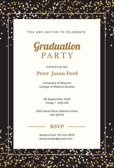 free printable graduation invitation templates 19 graduation invitation templates invitation templates free premium templates