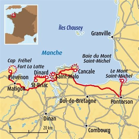 mont michel carte voyages cartes