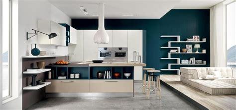 peinture salon cuisine ouverte quelle peinture pour cuisine blanche moderne