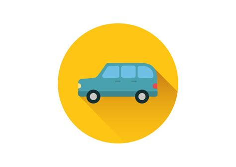 Car Icons by Combi Car Flat Vector Icon