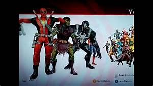 Marvel Ultimate Alliance 2 Rosteru0026alt Costumes Youtube