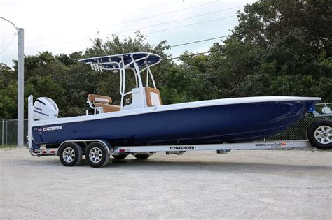 Contender Boats Colors by 2016 Contender 25 Bay Boat Gtb Edition 003 Sold