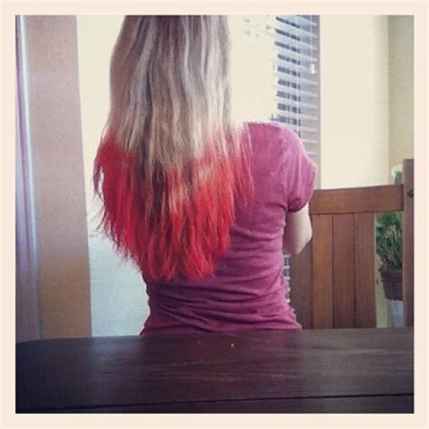 41 Best Images About Dyed My Ends Of The Hair On Pinterest
