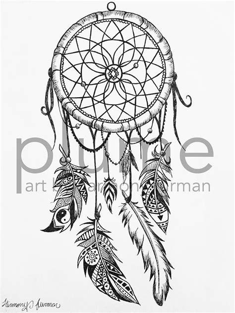Plume by Harmony Furman   Gallery   Traumfänger tattoos