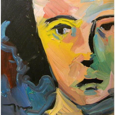 jose trujillo impressionism original oil painting portrait