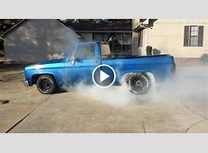 LS powered Chevy C10 kills off old tires the right way