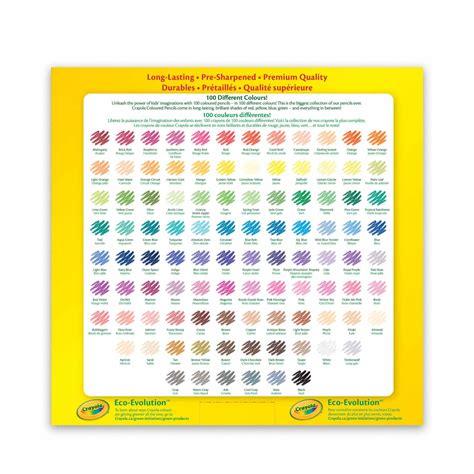 crayola colored pencils crayola coloured pencils 100 count crayola store