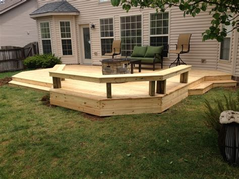 low decks designs 1000 ideas about ground level deck on