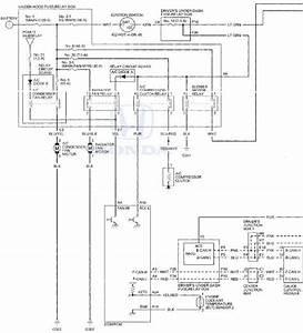 Honda Accord  Circuit Diagram - Climate Control