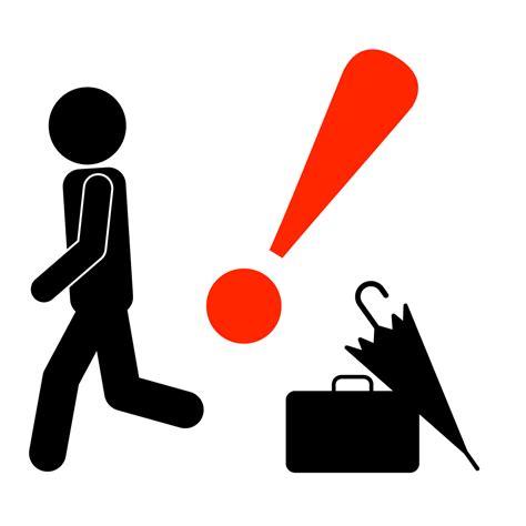 忘れ物注意|警告ポスター|貼り紙|フリー素材|イラスト